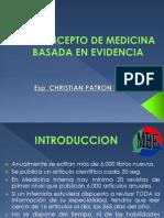 Christian Patron Roman Medicina Basada en Evidencia