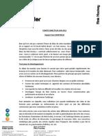 Rapport PDT Juin 2012