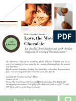 Love, The Movies & Chocolate