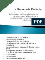 La Secretaria Perfecta