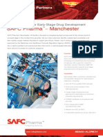SAFC Pharma - Manchester Facility - Rapid Scale Up for Early-Stage Drug Development