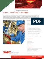 SAFC Pharma - Arklow Facility- Commercial Scale API Manufacturing