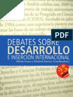 Debates Sobre Desarrollo. Alfredo Seoane y Elizabeth Jimenez (Coordinadores)