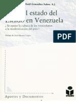 Sobre el estado del Estado en Venezuela