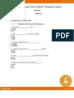 Subiecte Limba Engleza 1 8