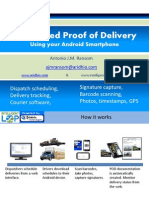 Proof of Delivery Using Your Android Smartphone