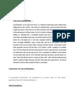 Securitisation of Loans