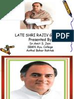 Rajive Gandhi