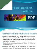 Aplicatii ale laserului in medicina