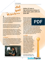 Successful Municipal Wireless Mesh Solution