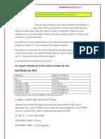 Unidades de medida de la cantidad de información LARO