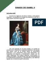 El Reinado de Isabel II