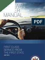 Delaware Driver Manual -2013