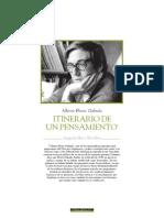 Augusto Ruiz Zevallos / Alberto Flores Galindo. Itinerario de un pensamiento.   Publicado en