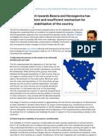 The EU Approach towards Bosnia and Herzegovina