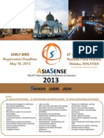 Brochure AsiaSense 2013