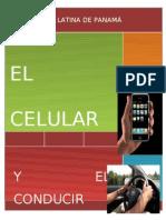 Monografia El Celular y Conducir