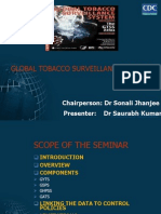 Global tobacco surveillance system