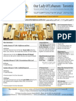 Bulletin Jan 27th, 2013