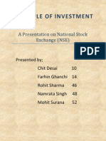 a presentation on national stock exchange