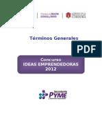 Concurso Ideas Emprendedoras 2012.doc