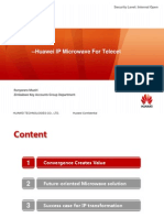 Huawei IP Microwave for Telecel Zimbabwe