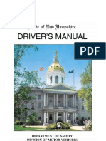 New Hampshire Drivers Manual.