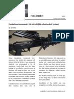 Parabellum Armament's LLC AKARS (AK Adaptive Rail System)
