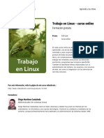 Trabajo en Linux Curso Online