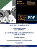 El gobierno de Mitterrand sus perspectiva y nuestra política