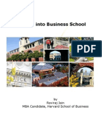 Getting into Business School