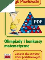 TUTOR Olimpiady i konkursy matematyczne gimnazjum szkoła podstawowa Henryk Pawłowski s 12