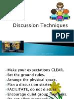 discussion techniques