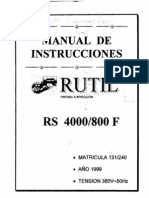 Manual y Planos, Rutil Nueva