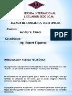 Agenda de Contactos Telefonicos