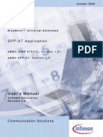 Bluetooth SPP at SW Description