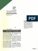 Various Articles - David Levine