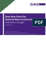 How New York City Reduced Mass Incarceration