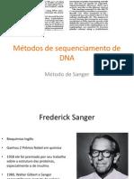 Método Sanger Sequenciamento