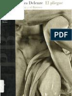 Deleuze - El Pliegue Leibniz y El Barroco