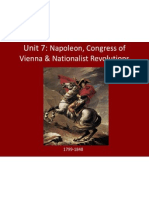 unit 7 - napoleon  congress of vienna website