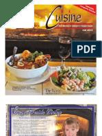 Cuisine Guide Oct 2012