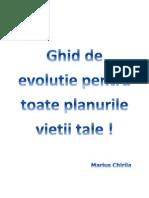 GHID DE EVOLUTIE