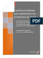 B1Sales 5 Mejores Practica Para Administrar Prospectos