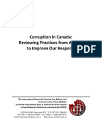 Corruption in Canada