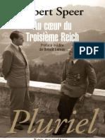 Speer Albert - Au Coeur Du Troisieme Reich