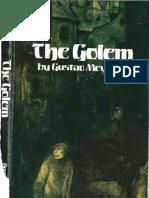 The Golem - Gustav Meyrink