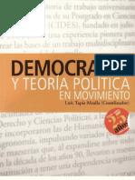 Democracia y Teoría Política. Luís Tapia Mealla (Coordinador).pdf
