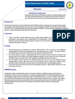 Emergency Communications Network Fact Sheet