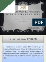 PROYECTO PARA EL FOMENTO A LA LECTURA-1.ppt
